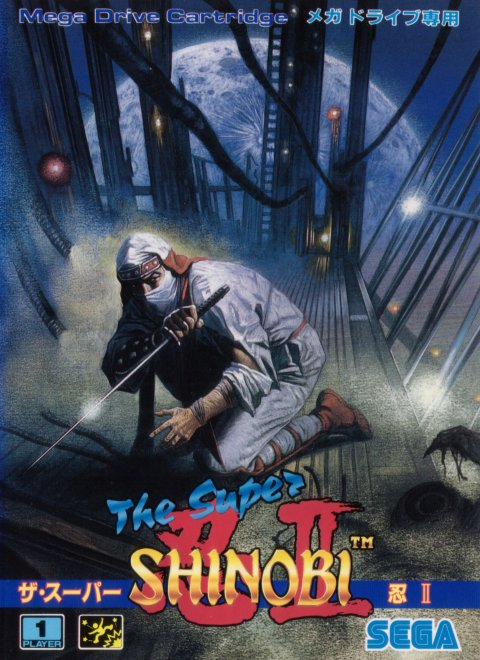 Super Shinobi Ii The Japan Rom
