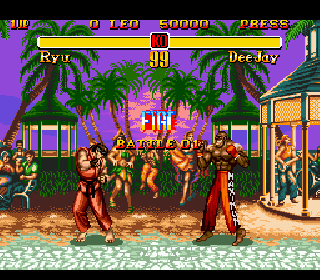 Screenshot Thumbnail / Media File 1 for Super Street Fighter II - The New Challengers (Europe)