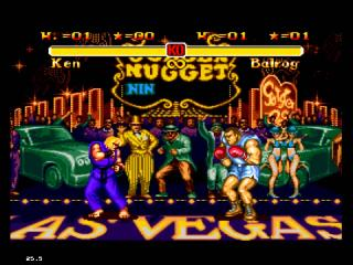 Screenshot Thumbnail / Media File 1 for Super Street Fighter II - The New Challengers (Japan)