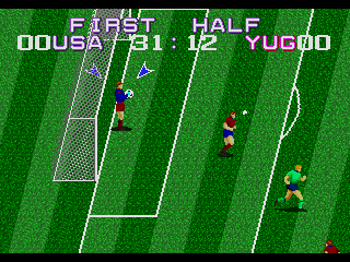 Screenshot Thumbnail / Media File 1 for Tecmo World Cup (USA)
