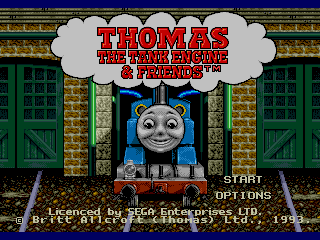 Screenshot Thumbnail / Media File 1 for Thomas the Tank Engine & Friends (USA)