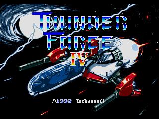 Screenshot Thumbnail / Media File 1 for Thunder Force IV (Japan)