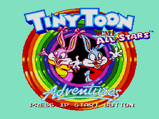 Screenshot Thumbnail / Media File 1 for Tiny Toon Adventures - Acme All-Stars (Europe)