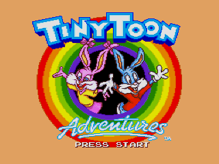 Screenshot Thumbnail / Media File 1 for Tiny Toon Adventures - Buster's Hidden Treasure (Europe)
