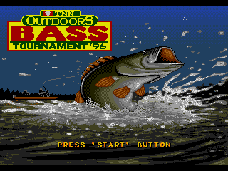 Screenshot Thumbnail / Media File 1 for TNN Outdoors Bass Tournament '96 (USA)