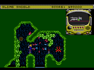 Screenshot Thumbnail / Media File 1 for Todd's Adventures in Slime World (USA)