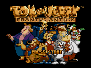 Screenshot Thumbnail / Media File 1 for Tom and Jerry - Frantic Antics (USA) (1993)