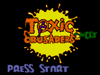 Screenshot Thumbnail / Media File 1 for Toxic Crusaders (USA)