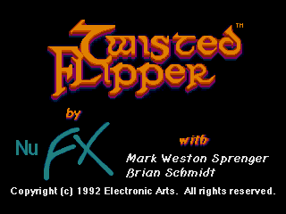 Screenshot Thumbnail / Media File 1 for Twisted Flipper (USA) (Beta)