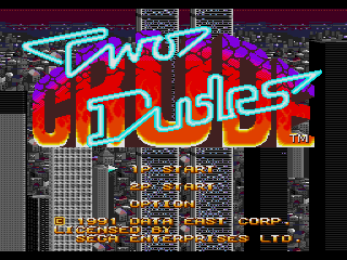 Screenshot Thumbnail / Media File 1 for Two Crude Dudes (USA)