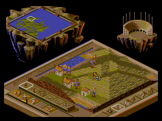 Screenshot Thumbnail / Media File 1 for Two Tribes - Populous II (Europe)
