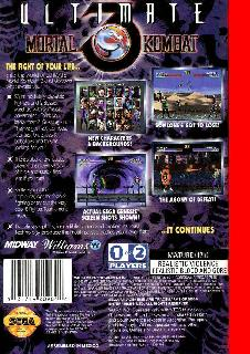 Screenshot Thumbnail / Media File 1 for Ultimate Mortal Kombat 3 (USA)