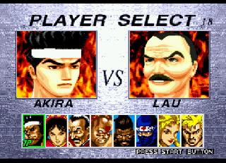 Screenshot Thumbnail / Media File 1 for Virtua Fighter 2 (USA, Europe)