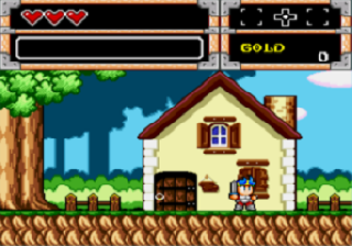 Screenshot Thumbnail / Media File 1 for Wonder Boy in Monster World (USA, Europe)
