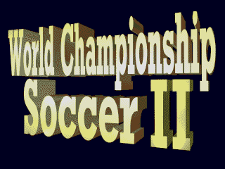 Screenshot Thumbnail / Media File 1 for World Championship Soccer II (USA) (Beta)