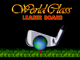 Screenshot Thumbnail / Media File 1 for World Class Leaderboard Golf (USA)