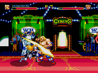 Screenshot Thumbnail / Media File 1 for World Heroes (Japan)