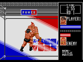 Screenshot Thumbnail / Media File 1 for Wrestle War (Japan, Europe)