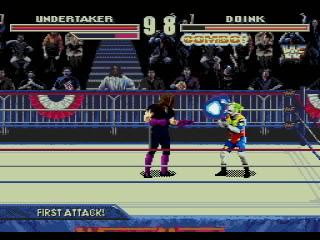 Screenshot Thumbnail / Media File 1 for WWF WrestleMania - The Arcade Game (USA)