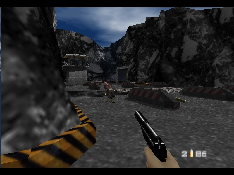 [Análise Retro Game] - 007 contra Goldeneye - Nintendo 64 39545-007_-_GoldenEye_(USA)-2