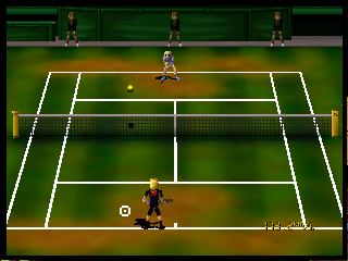 Screenshot Thumbnail / Media File 1 for Centre Court Tennis (Europe)