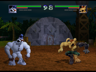 Screenshot Thumbnail / Media File 1 for Clay Fighter 63 1-3 (Europe)