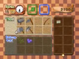 Screenshot Thumbnail / Media File 1 for Harvest Moon 64 (USA)