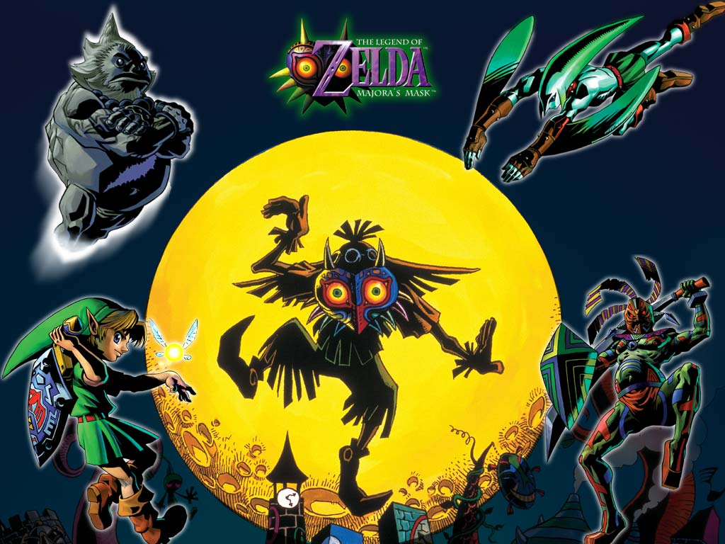 Image result for legend of zelda ocarina of time majora's mask