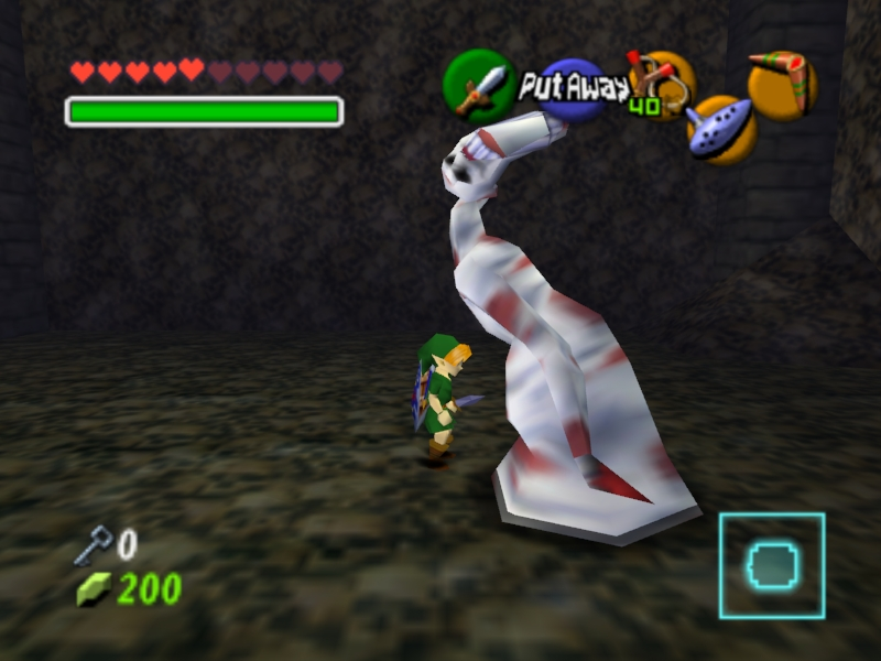 legend of zelda ocarina of time n64 emulator cheats