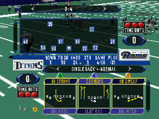 Screenshot Thumbnail / Media File 1 for Madden NFL 2001 (USA)