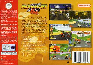 Screenshot Thumbnail / Media File 1 for Mario Kart 64 (Europe) (Rev A)
