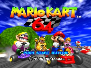 Screenshot Thumbnail / Media File 1 for Mario Kart 64 (Japan) (Rev A)