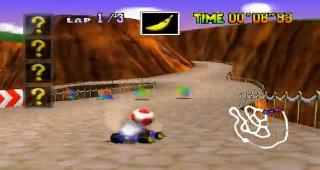 Screenshot Thumbnail / Media File 1 for Mario Kart 64 (USA)