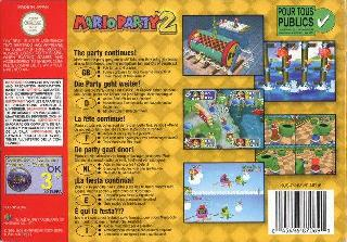 Screenshot Thumbnail / Media File 1 for Mario Party 2 (Europe) (En,Fr,De,Es,It)