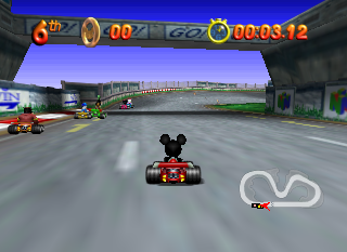 Screenshot Thumbnail / Media File 1 for Mickey's Speedway USA (Europe) (En,Fr,De,Es,It)