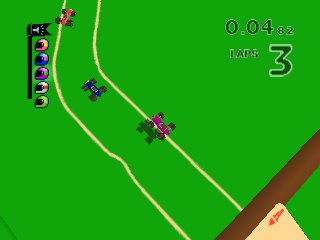 Screenshot Thumbnail / Media File 1 for Micro Machines 64 Turbo (Europe) (En,Fr,De,Es,It)