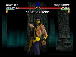 Screenshot Thumbnail / Media File 1 for Mortal Kombat 4 (USA)