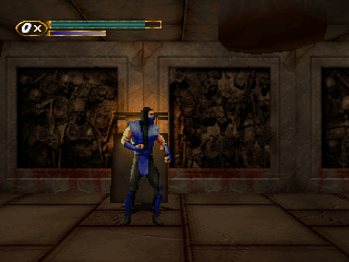 Screenshot Thumbnail / Media File 1 for Mortal Kombat Mythologies - Sub-Zero (Europe)