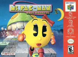 Screenshot Thumbnail / Media File 1 for Ms. Pac-Man - Maze Madness (USA)
