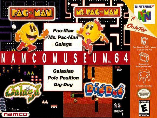 Namco Museum 64 (USA) ROM < N64 ROMs | Emuparadise