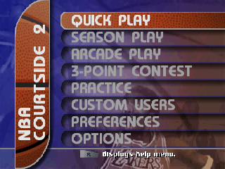 Screenshot Thumbnail / Media File 1 for NBA Courtside 2 featuring Kobe Bryant (USA)