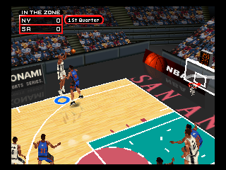 Screenshot Thumbnail / Media File 1 for NBA in the Zone 2000 (USA)