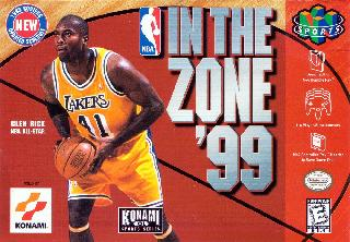 Screenshot Thumbnail / Media File 1 for NBA in the Zone '99 (USA)