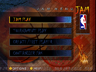 Screenshot Thumbnail / Media File 1 for NBA Jam 2000 (USA)