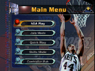 Screenshot Thumbnail / Media File 1 for NBA Jam 99 (Europe)