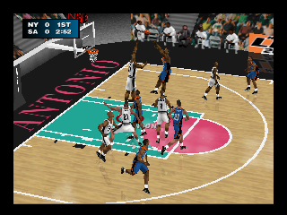 Screenshot Thumbnail / Media File 1 for NBA Live 2000 (USA) (En,Fr,De,Es)