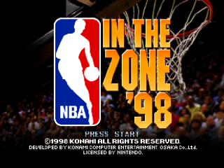 Screenshot Thumbnail / Media File 1 for NBA Pro 98 (Europe)