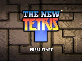 Screenshot Thumbnail / Media File 1 for New Tetris, The (Europe)