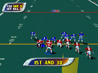 Screenshot Thumbnail / Media File 1 for NFL Blitz - Special Edition (USA)