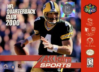 Screenshot Thumbnail / Media File 1 for NFL Quarterback Club 2000 (Europe)